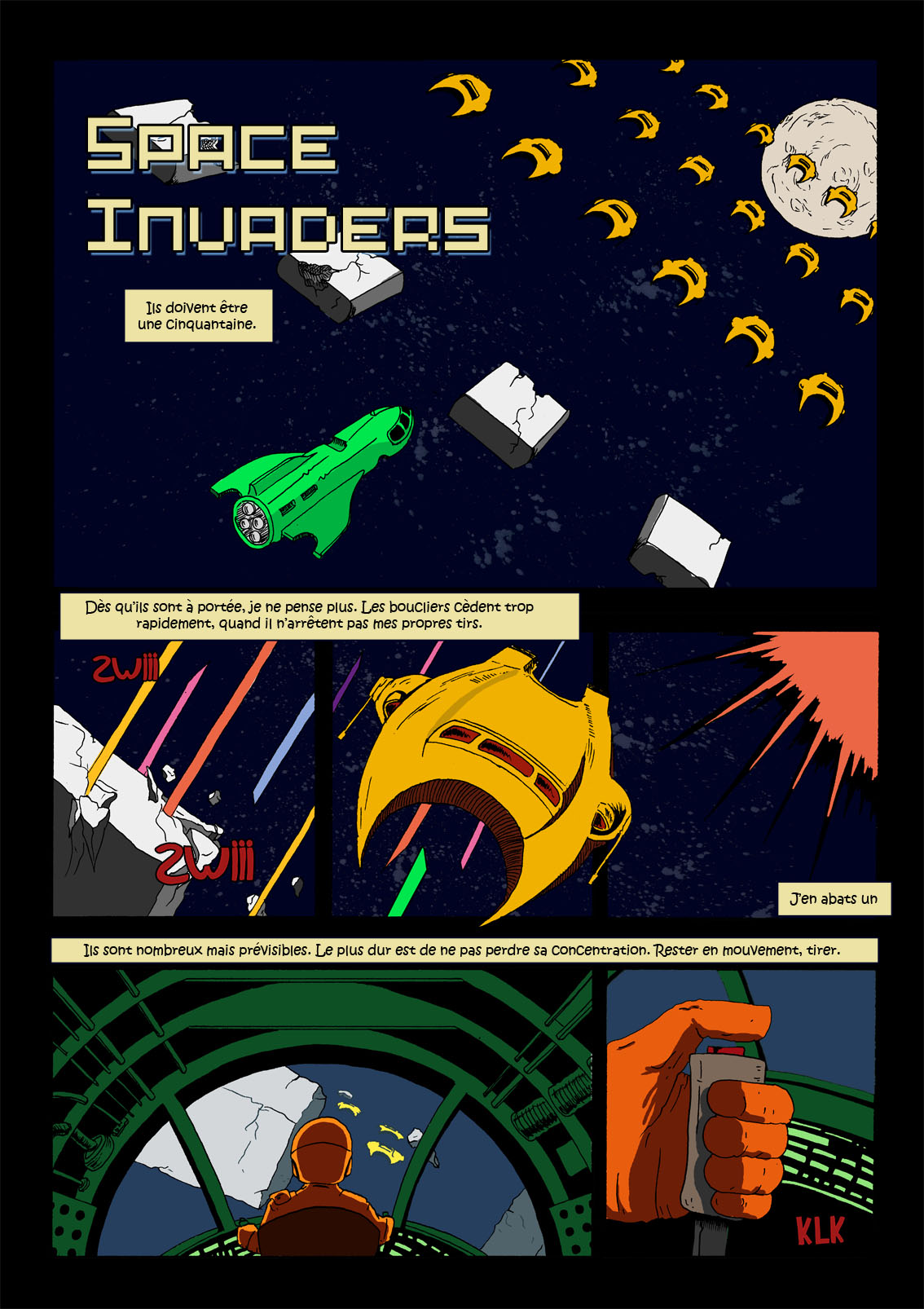 Space Invaders 2 - Récit 01
