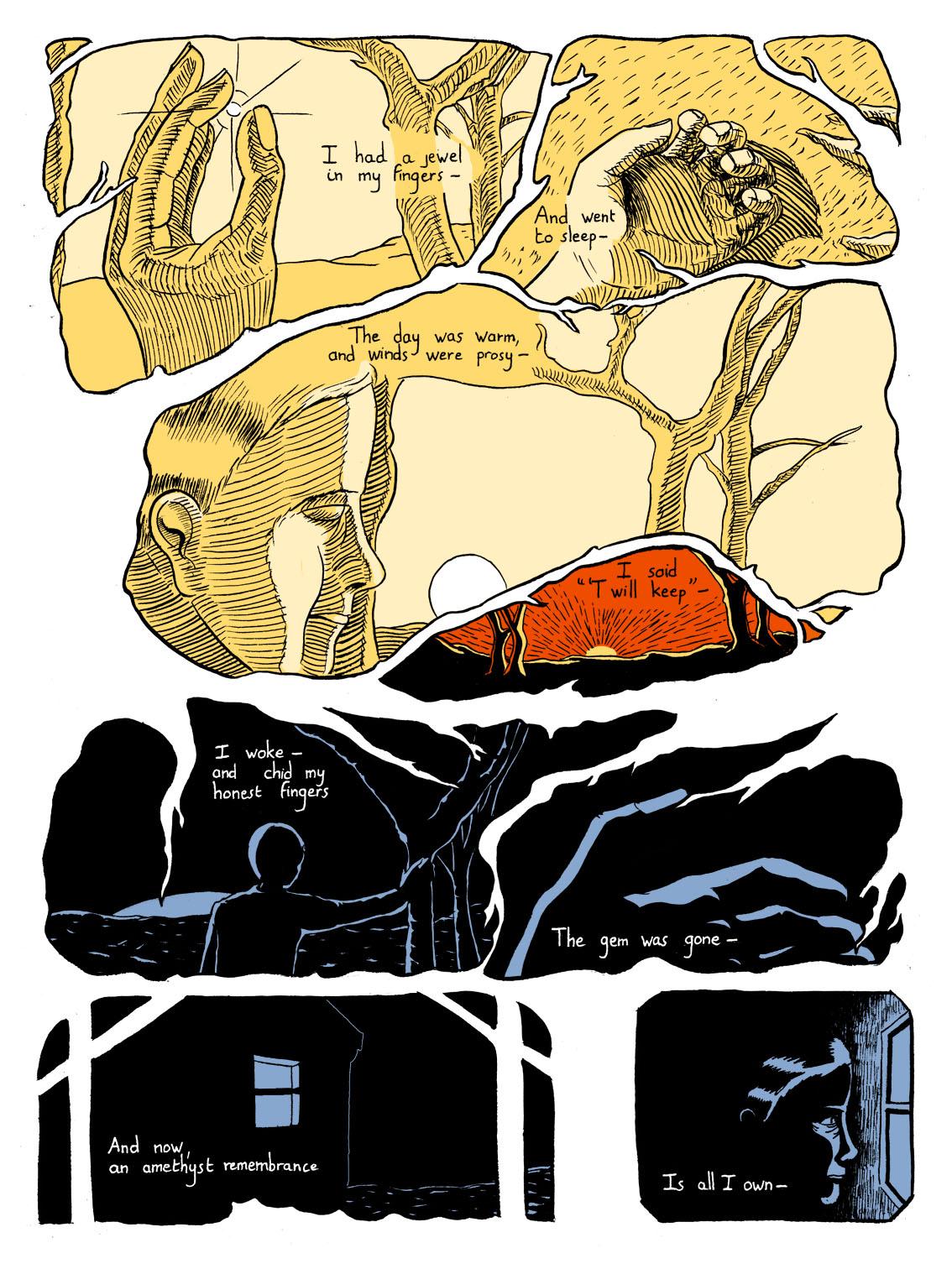 Adapter la poésie en bande dessinée
