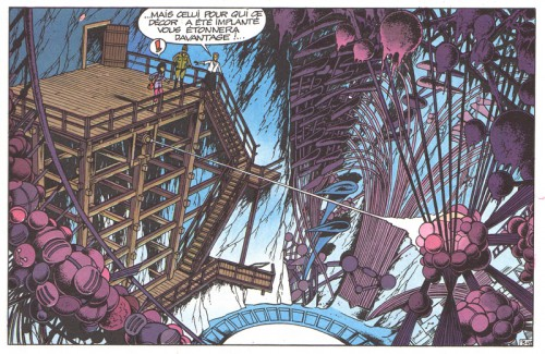 Roger Leloup, La Spirale du temps (1981), page 36, dernier strip