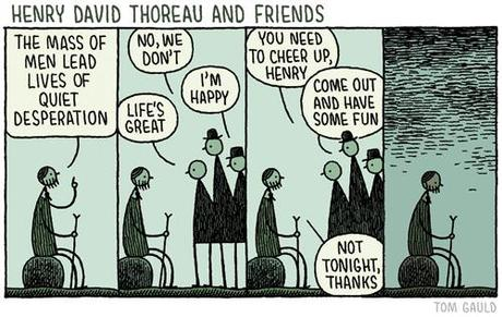Tom Gauld, tiré de You're All Jealous of My Jetpack (2014)