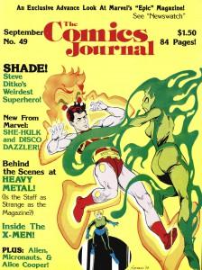 TCJ 49 - sept 1979, il contient une longue interview de Julie Simmons et John Workman