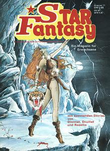 Star Fantasy n°11 (novembre 1978), couverture de Joe Jusko