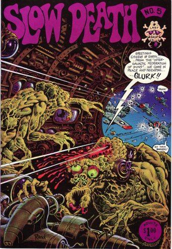 Rand Holmes, Slow Death Comix n°5 (1973)