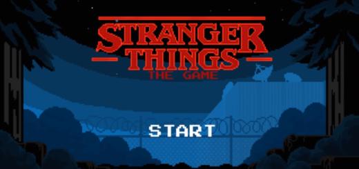 Premier écran du jeu vidéo Stranger Things (2017)
