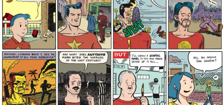 A history of American Comics in [8] Panels
