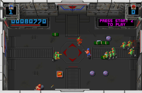 Smash TV (Williams, 1990), screenshot.