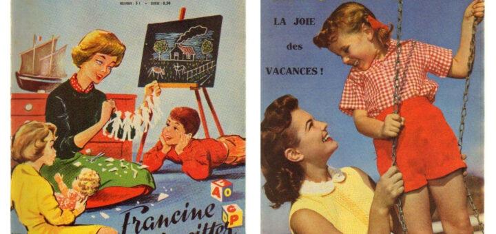 Lisette - mars et juin 1959 - nouvelle technologie, continuité des sujets